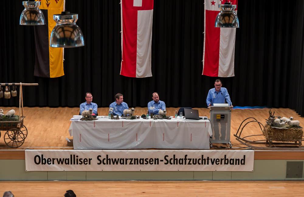 Verbandsversammlung Oberwalliser Schwarznasen Schaf Zuchtverband 2018